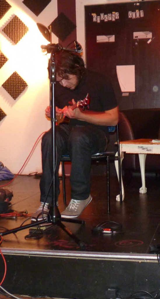 One of the OT301 guys plays uke too!